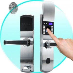 khóa cửa vân tay ứng dụng scan