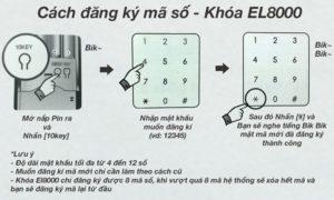 hướng dẫn sử dụng khóa cửa hafele