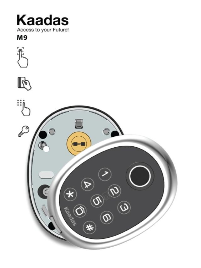 Khoá điện tử KAADAS M9 4