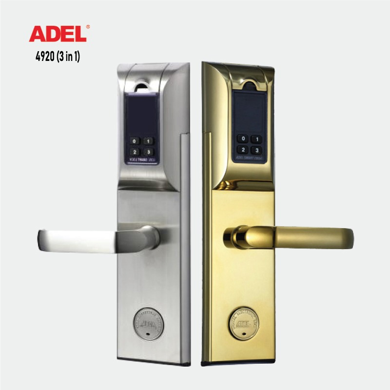 Khóa điện tử ADEL 4920 (3 in 1) 1