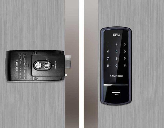 Khóa điện tử Samsung SHS 3321 6