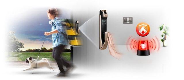 Khóa điện tử Samsung SHP-DP728 2