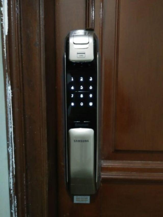 Khóa điện tử Samsung SHP-DP728 5