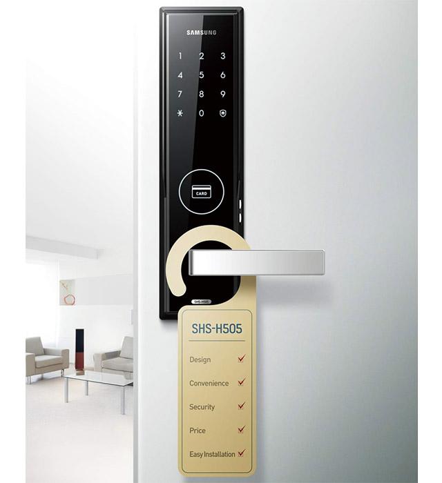 Khóa điện tử Samsung SHP - DS510 11