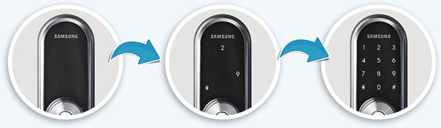 Khóa điện tử Samsung SHP - DS510 6
