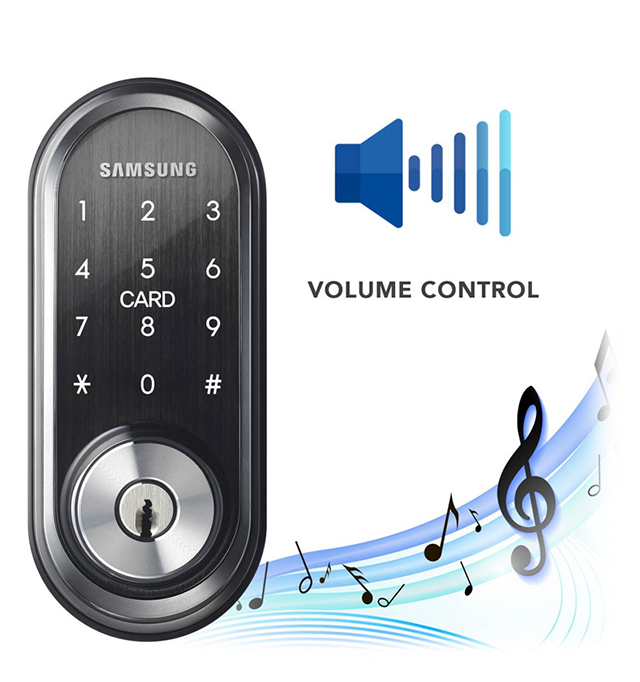 Khóa điện tử Samsung SHP - DS510 7