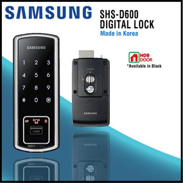 Khóa điện tử Samsung SHS-D600 1