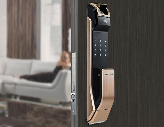 Khóa điện tử Samsung SHS-P718 1