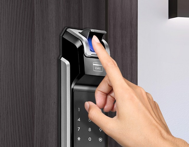 Khóa điện tử Samsung SHS-P718 4