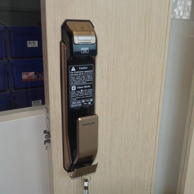 Khóa điện tử Samsung SHS-P718 6