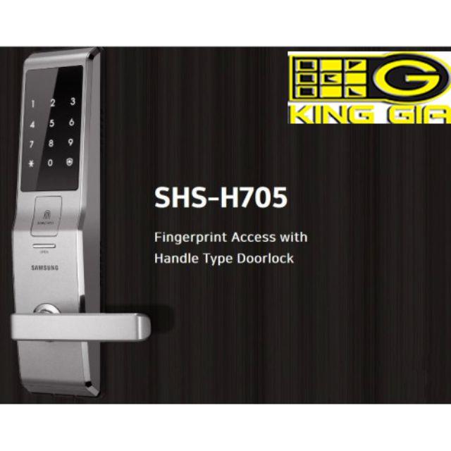 Khóa điện tử Samsung SHS-H705 2