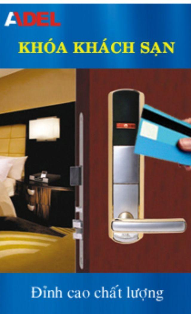 Khóa khách sạn ADEL A7MF 4