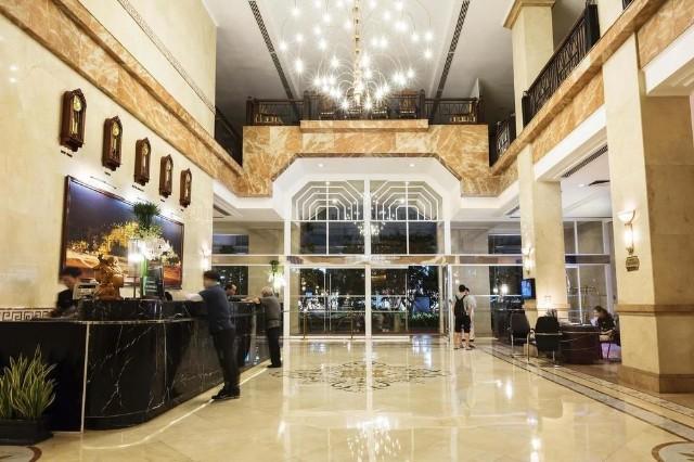 Thiết kế nội thất sảnh khách sạn sang trọng