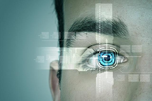 Khóa điện tử nhận diện mống mắt