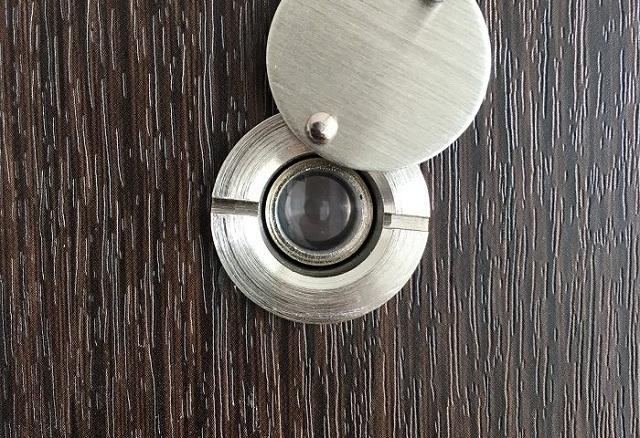 Mắt thần gắn cửa