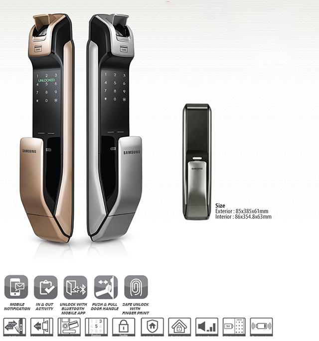 Khóa điện tử Samsung SHS-P728