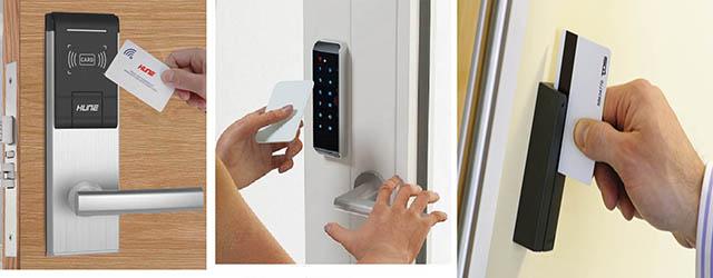 Sử dụng khóa cửa thẻ từ như thế nào?