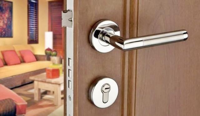 ổ khóa cửa tay gạt