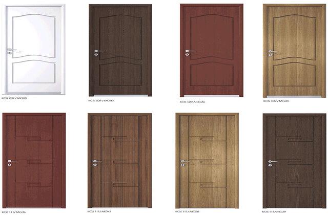 Mẫu cửa nhựa gỗ Composite 1