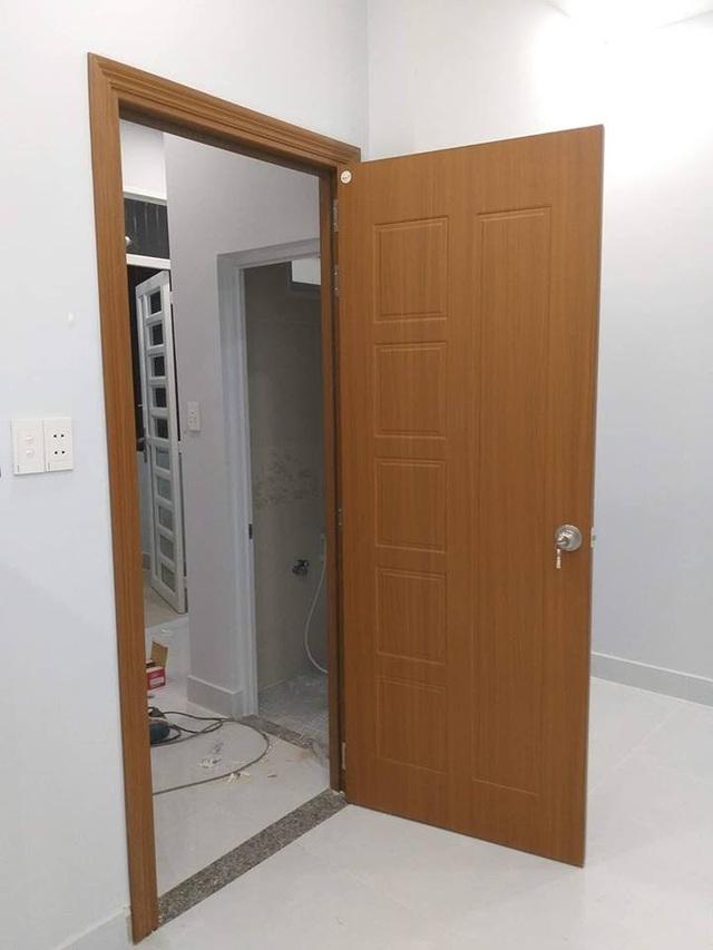 Mẫu cửa nhựa gỗ Composite 3