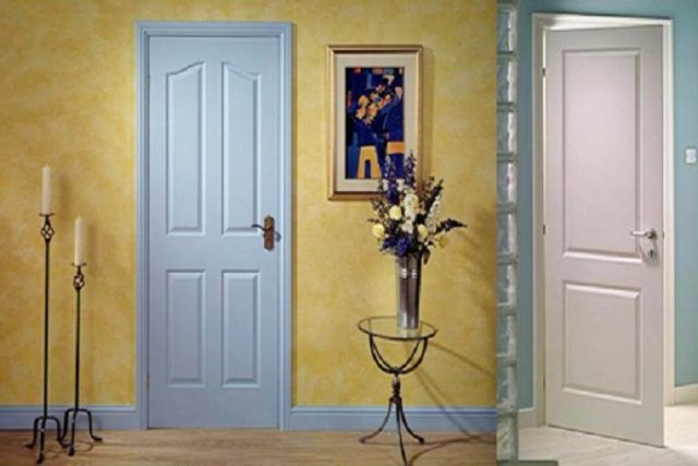 Mẫu cửa nhựa gỗ Composite 5