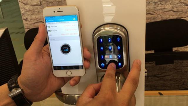 giải pháp khóa điện tử homestay 3