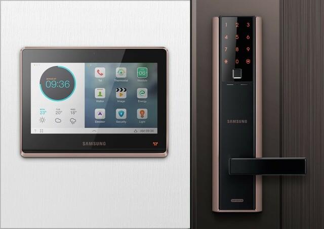 Khóa điện tử Samsung cho căn hộ