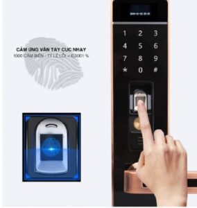 mở khóa vân tay cửa điện tử 2